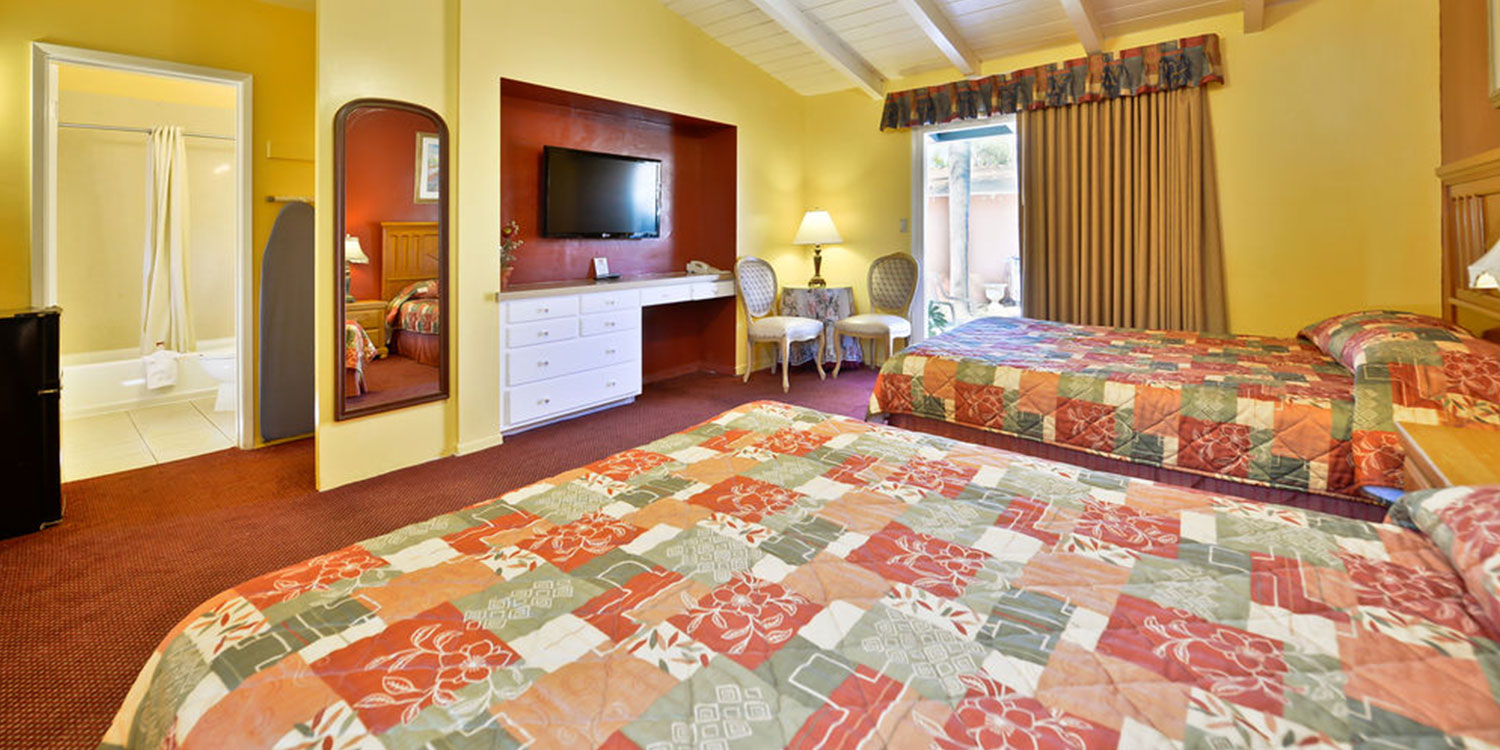 OUR SPACIOUS FALLBROOK, CA GUEST ROOMS ARE IDEAL FOR   FAMILIES